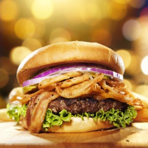 Michael Symon's French Onion Burger Recipe & South Beach Burger Bash
