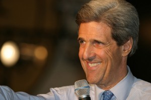 Late Show: Secretary of State John Kerry Top 10 Countries & Root Canal