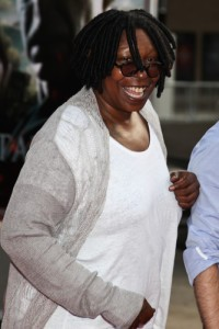 Whoopi Goldberg and the rest of the ladies of The View will be talking to a number of internet stars, including Kid President Robby Novak, the Singing Janitor, and internet prankster Jack Vale. (Miro Vrlik Photography / Shutterstock.com)