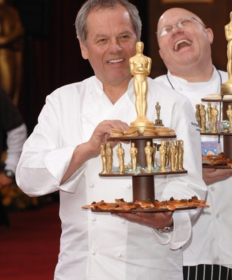 Ellen: Wolfgang Puck Vegan Oscars Menu & Kale Salad with Date Compote