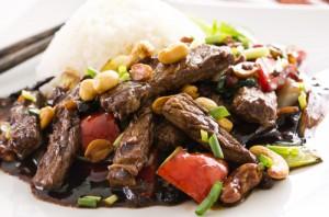 GMA: Michelle Obama & Marcus Samuelsson Healthy Beef Stir Fry Recipe