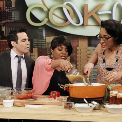 The View Vs The Chew: Red Beans And Rice Recipe & Eggplant Chicken