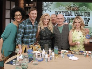 The Chew: Hand Painted Glasses & Clinton's Craft Corner