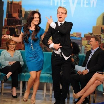The View: Andy Dick & Sharna Burgess Dancing With The Stars Premiere