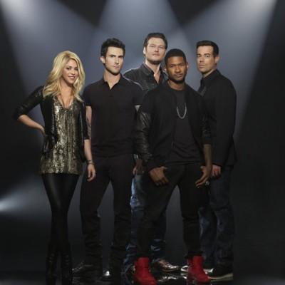 The Voice New Coaches: Shakira & Usher, Blake Shelton & Adam Levine