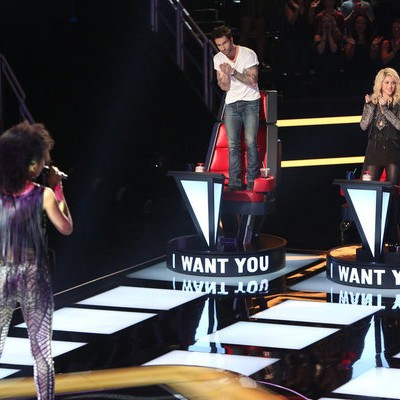The Voice: #VoicePremiere Morgan Twins & Judith Hill Shock Judges