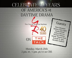 The Talk: The Young And The Restless 40th Anniversary Special
