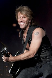 Jon Bon Jovi will come by The Chew on December 19, 2014, to talk about Bon Jovi's Because We Can tour. (Shelly Wall / Shutterstock.com)