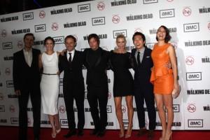Jimmy Kimmel Live: Lauren Cohan The Walking Dead & Sound City Players