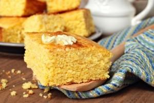 The Chew: Gina Torres Upside Down Citrus Cake & Cornbread Napoleon