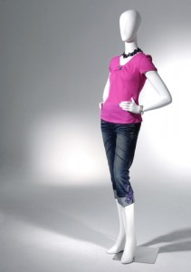 Today Show: Plus Size Mannequin in Sweden & Average Mannequin Size 4