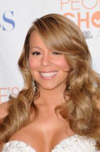Late Night with Jimmy Fallon: Mariah Carey Dress Wardrobe Malfunction