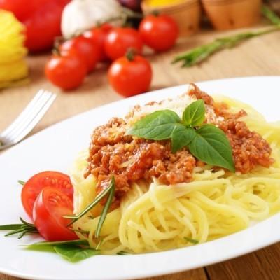The Chew: Mario Batali Acorn Squash Soup & Michael Symon Pastistio
