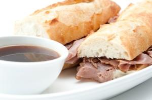 The Chew: Michael Symon Cleveland Pork Dip Sandwich Recipe
