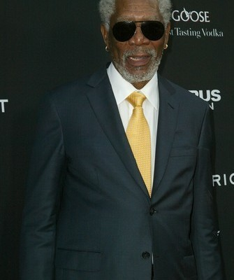 The Talk: Morgan Freeman Through The Wormhole & Olympus Has Fallen