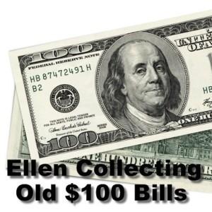 Ellen: World's Most Beautiful Woman, New $100 Bill & Clumsy Thumbsy