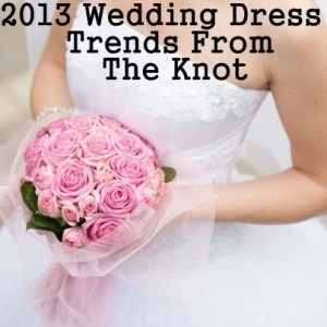 Today Show: The Knot's 2013 Wedding Dress Trends & Alfred Angelo Dress