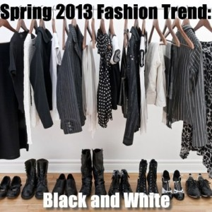 Today: The Big Wedding Review & Black and White Spring Fashion Trend