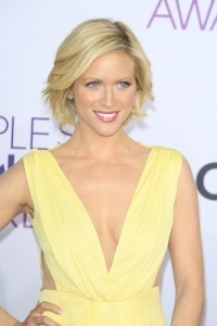 Brittany Snow will come by The Chew to talk about Pitch Perfect 2 on May 15, 2015. (Phil Stafford / Shutterstock.com)