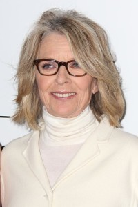 Diane Keaton came by Ellen to drink wine and discuss her new book Let's Just Say It Wasn't Pretty. She also declared her intention to kiss the most men in the most movies. (s_bukley / Shutterstock.com)