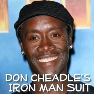 Kelly & Michael: Don Cheadle Using Bathroom in Iron Man Suit & Stunts