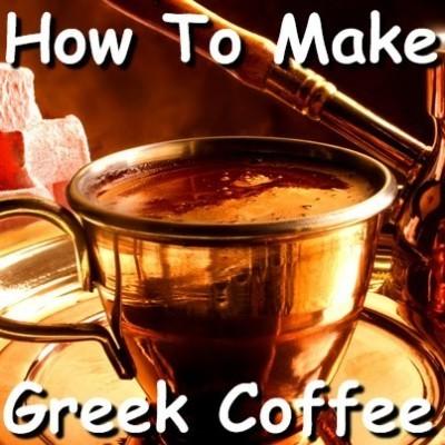 Dr Oz: Boiled Greek Coffee Recipe & Preparing Greek Coffee in Briki