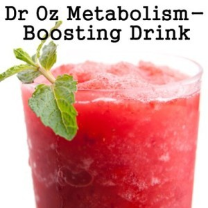 Dr Oz: 21 Day Summer Slimdown Guidelines & Metabolism Boosting Drink