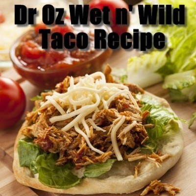 "Dr Oz: Wet Water Recipe to Fight Belly Bloat & ""Wet"" Food Snack Option"