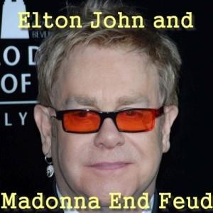 GMA: Elton John & Madonna End Feud & Michael Jordan Wedding In Florida