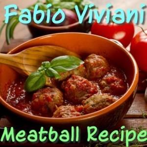 GMA: Fabio Viviani Drunken Spaghetti Recipe & Mom's Meatballs Recipe
