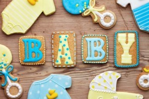 Katie: Nick Lachey A Father's Lullaby Album & Baby Gender Reveal Cakes