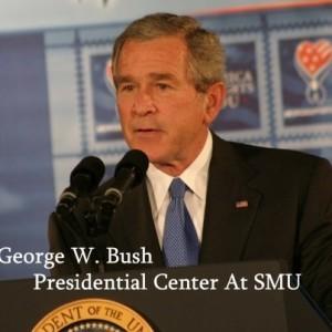 Today: George W. Bush New Presidential Center & Christy Vega Molcajete