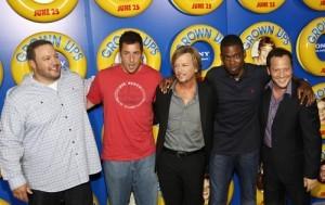 Ellen: Adam Sandler, Chris Rock, Maya Rudolph, David Spade Grown Ups 2