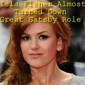 Good Morning America: Isla Fisher as Myrtle Wilson in The Great Gatsby