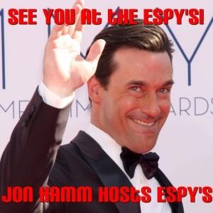 Kelly & Michael: Jon Hamm Hosting ESPY Awards 2013 & Directing Mad Men