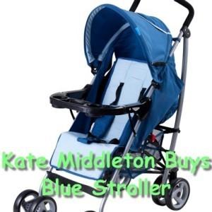 GMA: Kate Middleton Blue Bugaboo Stroller & Living Below the Line