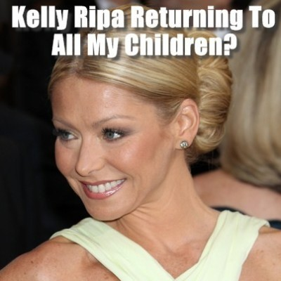Kelly Ripa Returning to All My Children & Michael Buble Subway Singing