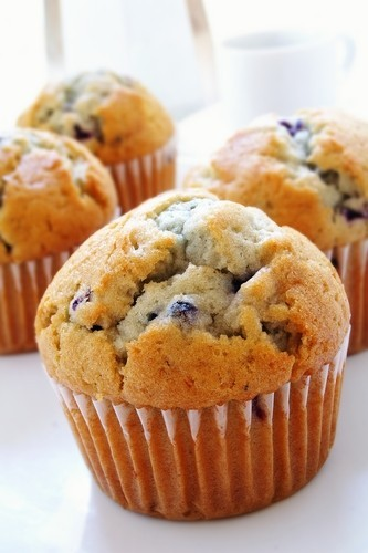 ... -free blueberry muffin recipe and an almond mocha iced coffee recipe