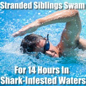 Today: Stranded Siblings Swim For 14 Hours & Hyundai Pulls Suicide Ad