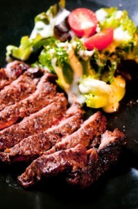 The Chew: Steakhouse Salad Recipe & Balsamic Marinated Steak Recipe