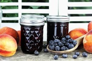 The Chew Viewer Sugar Rush Dessert: Peach Blueberry Crumb Pie Recipe