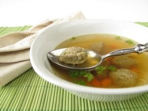 The Chew: Bread Dumpling Soup Recipe & Italian Meatballs Of The Wolf