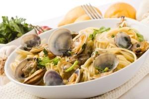 KLG & Hoda: Curtis Stone Angel Hair Pasta with Clams & Radishes Recipe