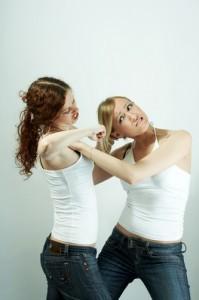 Jerry Springer: Cheating Scandal - Lesbian Girlfriends Fight Over Men