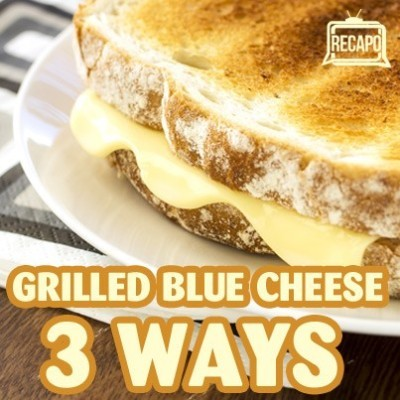 The Chew: Special Crispy Grilled Cheese Recipe & Blue Cheese Sauce