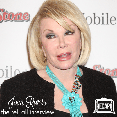 Dr Oz: Joan Rivers Bulimia was Fabulous & Number of Cosmetic Surgeries