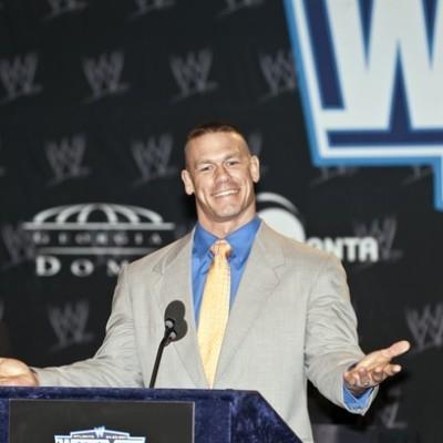 GMA John Cena Wrestlemania WWE Champion & Sam Champion Invisible Trick
