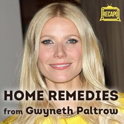 Dr Oz: Gwyneth Paltrow Home Health Remedies - Colloidal Silver Spray