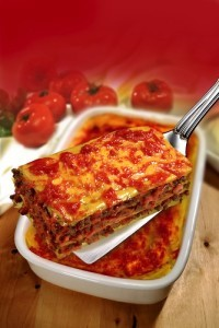 The Chew: Spicy Sausage Lasagna Recipe & Light Sausage Lasagna Recipe