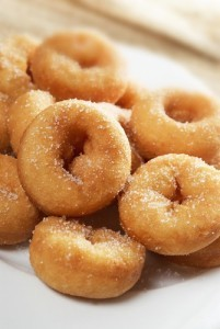 The Chew: Chocolate Banana Donuts Recipe & Crispy Peanut Butter Balls